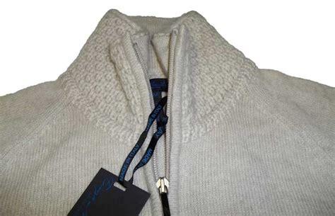 Enzo Mantovani by Enzo Mantovani Womens Zip Mock Neck Sweater
