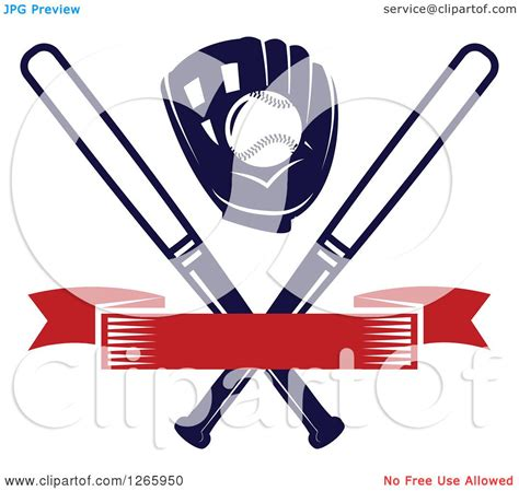 It refers to a team winning their division all title. Clipart of a Baseball in a Glove over Crossed Bats and a ...
