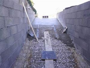 comment faire une descente de garage en beton newsindoco With faire une dalle beton garage