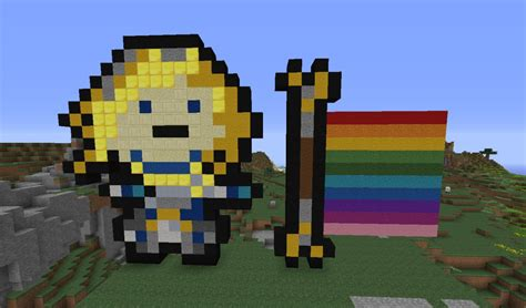 Lux (league Of Legends) Minecraft Project