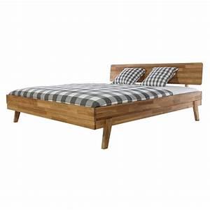 Bett 160x200 Holz : bett holzbett bettrahmen bettgestell 160x200 holz wildeiche massiv ge lt neu ebay ~ Indierocktalk.com Haus und Dekorationen