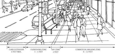 sidewalk dimensions sidewalk width gallery