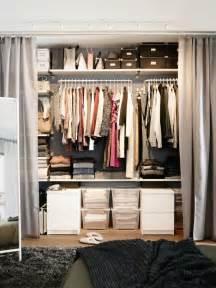 Dressing Rideau Ikea dressing avec rideau 25 propositions pratiques et jolies