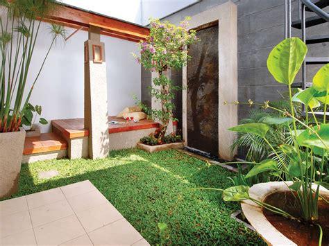 desain terbaru taman rumah minimalis desain rumah
