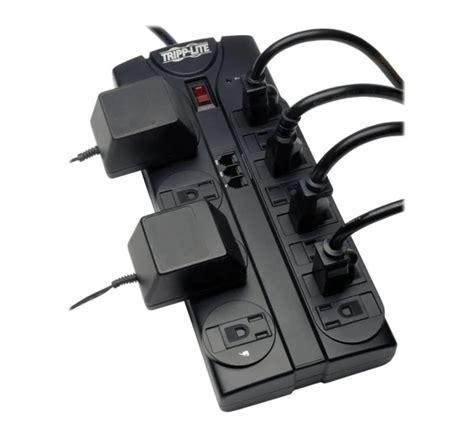 tripp protector surge lite outlet 120v strip power cablesandkits questions contact