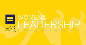 Women & Leadership: Equality Leaders for the 21st Century ...