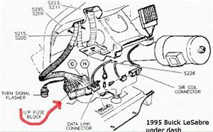 Buick Lesabre Questions - Where Is 1995 Buick Lesabre Fusebox