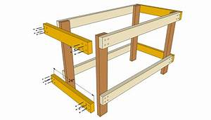 PDF DIY Workbench Plans Easy Download workbench plans with