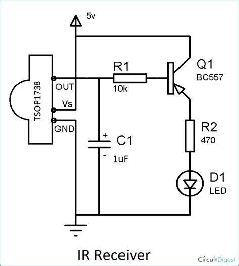 Infrared Receiver Output Pulsating Instead