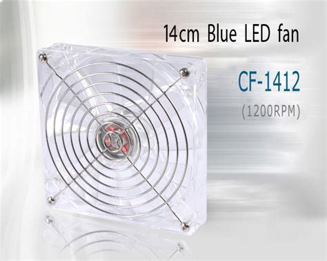 lian li 140mm blue led fan lian li 140mm blue led fan cf 1412a ll cf 1412a pc