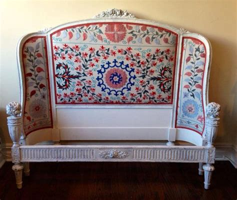 antique headboards for antique headboard redesigned vintage uzbek 7485