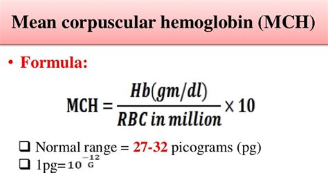 what metabolic by product from hemoglobin colors the urine yellow mch blood test normal range low and high mch