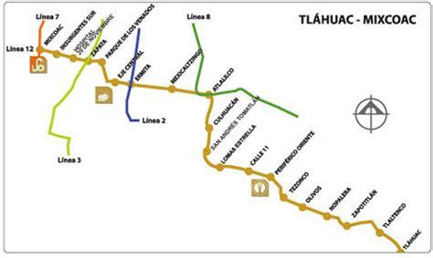 Línea 12 del metro cierra 12 estaciones por seis meses