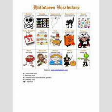 Halloween Vocabulary (part 3) #halloween #spanish #vocabulary  Spanish Vocabulary Halloween