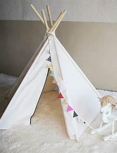 Teepee Zelt Kinder : soabe einfaches indisches zelt tipi zelt kinder spielzeug von soabe ~ Whattoseeinmadrid.com Haus und Dekorationen