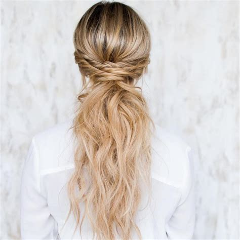 ponytail hairstyles hair long easy ponytails cute trendiest hairstyle styles extension pophaircuts updo hairdo twisted messy