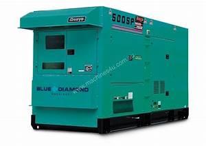 New 2018 Denyo Denyo 500kva Diesel Generator Komatsu