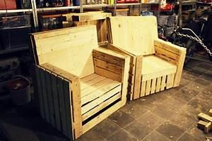 Sessel Aus Paletten : wie man zimmert so sitzt man ~ Whattoseeinmadrid.com Haus und Dekorationen