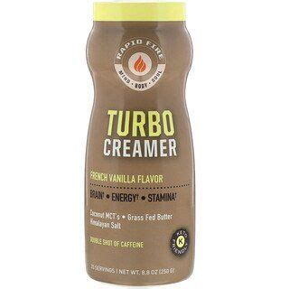 Each ingredient has been carefully selected and with you in mind. RAPIDFIRE, Turbo Creamer, French Vanilla Flavor, 8.8 oz (250 g) in 2020 | Vanilla flavoring ...
