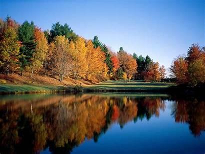 Scenery Autumn Wallpapers Backgrounds Fall Desktop Scenes