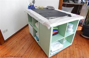 Pimp My Kallax : n htisch n hprojekte pinterest cutting tables and ikea hack ~ Markanthonyermac.com Haus und Dekorationen