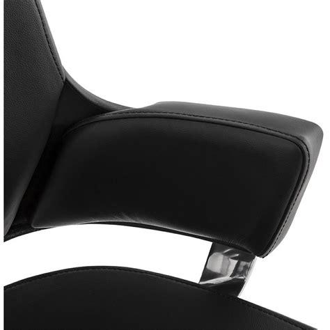 fauteuil bureau cuir noir fauteuil de bureau quot lounge quot cuir noir