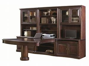 computer desk wall units aspen home office furniture With hometown office furniture