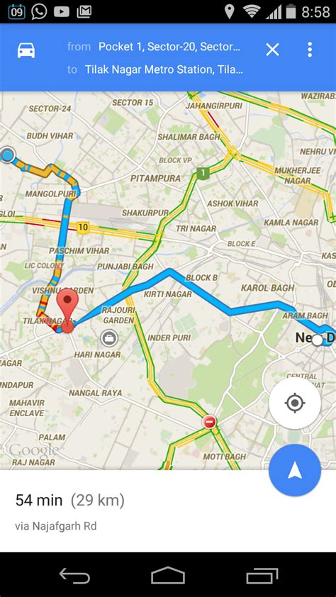 how to add multiple destination on android google map
