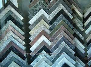 Granite Color Samples Chart