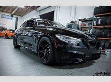 Black 435i on Black Vorsteiner Wheels BMW Performance