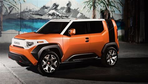 Toyota Hints At A New Fj Cruiser To Battle The Jeep