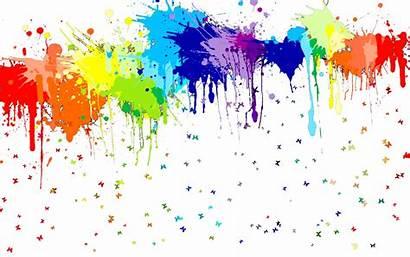 Clipart Splatter Paint Splash Rainbow Transparent Painting