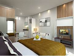 Apartment Design Home Building Furniture And Interior Design Everything In The Apartment Follows Modern And Luxury Interior Design Interior Design Ideas For 1 Bedroom Apartment Bedroom Decorating Ideas Small Apartment Interior Design Small Condo Apartment Interior Design