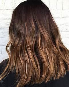 Brune Meche Caramel : meche blond sur cheveux brun fonce coiffures populaires 2019 ~ Melissatoandfro.com Idées de Décoration