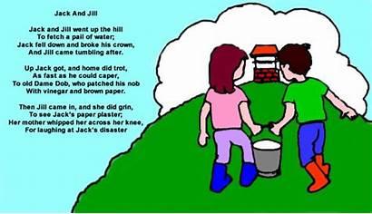 Jill Jack Nursery Rhyme Rhymes Dirty Clipart