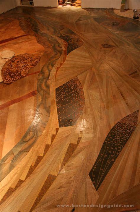 Flooring  Beautiful Unique Hardwood Floor  Design Wood