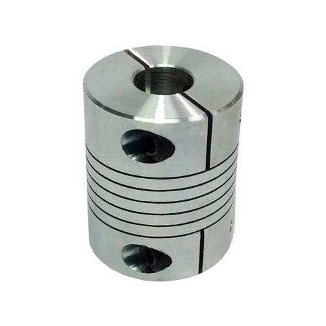 cnc   motor jaw shaft coupling bore mm flexible coupler ebay