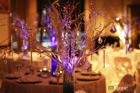diy manzanita branch curly willow branch centerpieces