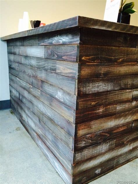 stain  chalk paint    bar   rustic