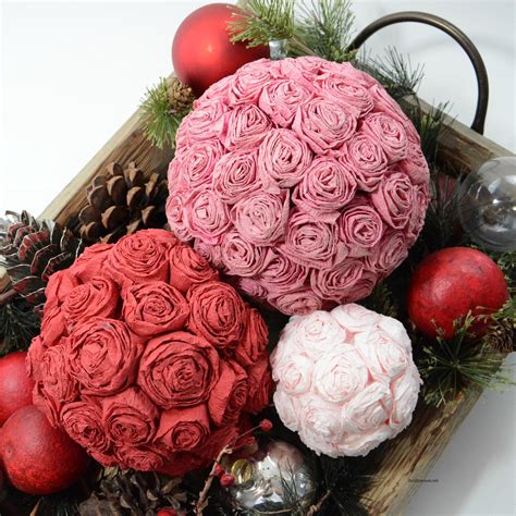 tissue paper roses  idea room
