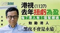 王維基:不認同HKTVmall是疫情「短暫幸運兒」 冀有更多競爭對手|香港01|財經快訊
