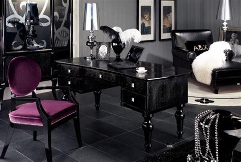 spotlight ebony 58 desk a x manor modern office desk