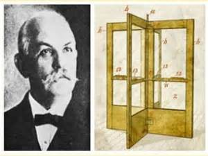 Image result for Theophilus Van Kannel received a patent for the revolving door.