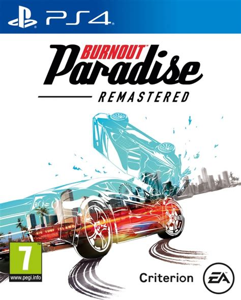 Burnout Paradise Remastered Ps4 Playstation 4 News