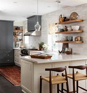 Best 25 open kitchen shelving ideas on pinterest for Kitchen cabinet trends 2018 combined with wall art shelves