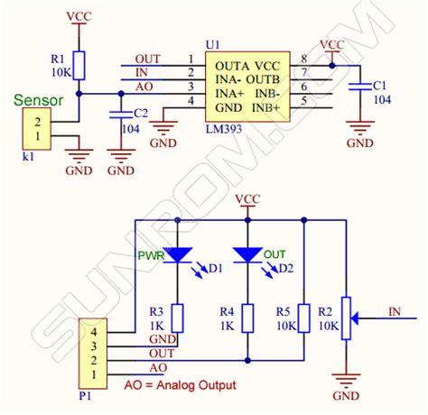humidity sensor module hr  sunrom electronics