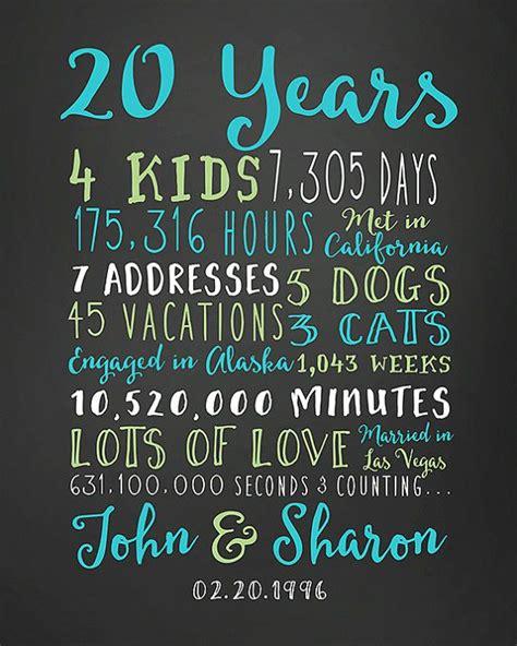 anniversary gift  year wedding anniversary anniversary gift  parents anniversary