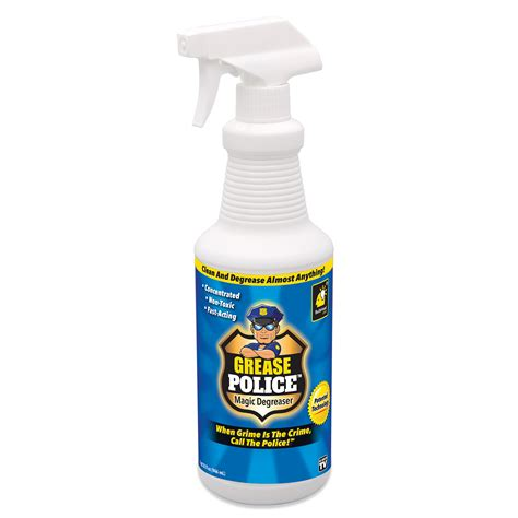 tv grease police oz magic degreaser  cleaner
