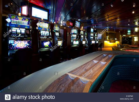 View Inside A Casino On Luxury Cruise Ship Of Slot