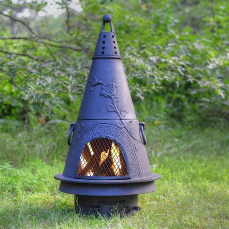 garden chimineas 14 chimineas to warm up your outdoors hgtv